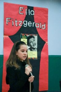 A Crawford student describes Ella Fitzgerald's singing.